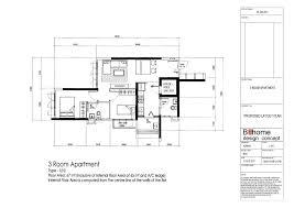 Hdb Flat Floor Plan by 3 Room Sengkang Proposed Layout Plan Vincent Interior Blog
