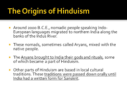 daily question how did hinduism originate and develop what are