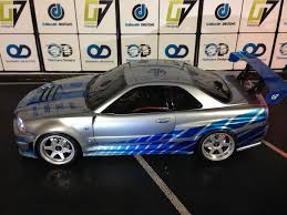 skyline nissan 2010 tamiya 190mm nissan skyline r34 paul walker edition oak man designs