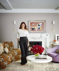 vintage home decor nyc marisa tomei u0027s nyc house tour in elle decor popsugar home