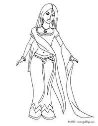 resultado de imagen de dibujos princesas para colorear dibuixos
