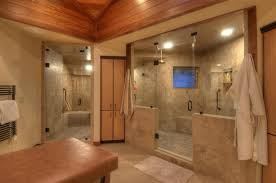 small steam shower bathroom bring the multi functionality into bathroom through