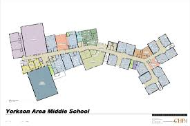 Floor Plans For Classrooms Floor Plan Yorkson Creek Middle