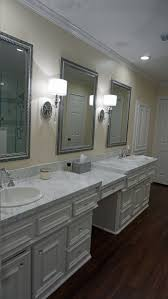 Marble Master Bathroom by Carrara White Marble Master Bathroom