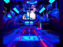 party bus the galaxy edition party bus limousine 30 passenger emperor