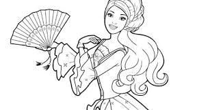 disney cartoon barbie doll princess coloring pages kentscraft