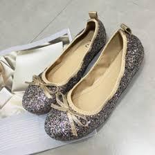 discount silver glitter ballet flats 2017 silver glitter ballet