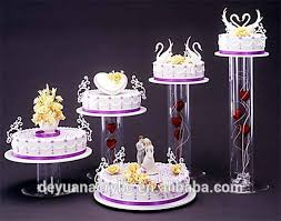 wedding cake sederhana 5 tier acrylic wedding cake stand 5 tier acrylic wedding cake