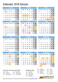Kalender 2018 Hessen Ausdrucken Kalender 2018 Hessen Zum Ausdrucken Kalender 2018