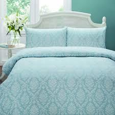 Nimbus Duvet Reviews Night Owl Night Owl Bed Linen Set Setof Duck Egg Amazon Co Uk