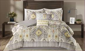 Ocean Bedspread Bedroom Grey Yellow Comforter Twin Size Yellow And Grey Bedding
