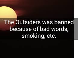 Bad Words The Outsiders By Amanda Schilcher