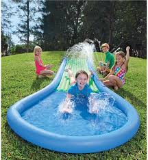 Best Backyard Water Slides Inflatable Water Slide Hearthsong