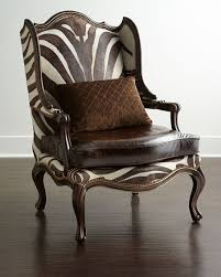 Traditional Armchairs Living Room Victoria Palace Leopard Wingback Chair Traditional