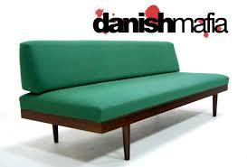 bedroom outstanding mid century danish modern teak sofa daybed