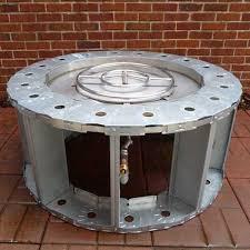 Gaslight Firepit Pit Ring Kit Ship Design