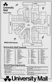 Oak Park Mall Map Sky City Southern And Mid Atlantic Retail History University