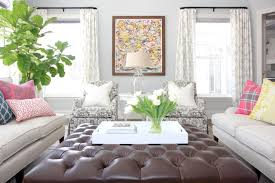 50 Beautiful Living Rooms With Ottoman Coffee Tables by 50 Beautiful Living Rooms With Ottoman Coffee Tables And Ottoman