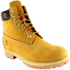 timberland mens premium classic leather original lace up boots