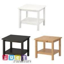 Hemnes Side Table Ikea Hemnes Side Coffee Table Living Room New Cheap In 3 Colors Ebay