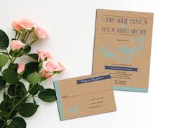 wedding invitations with response cards modern wedding invitation set modern elopement invitation