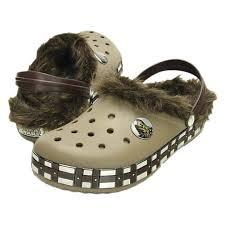 cuisine à crocs sandales crocs crocs cb wars chewbacca lined clogs vert