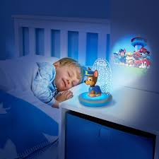 night light projector for kids paw patrol magic night light chase kids torch and projector by go