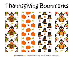 free printable thanksgiving bookmarks the pdf template