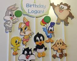 baby looney tunes baby shower decorations tune squad looney tunes space jam collectible plush taz bugs