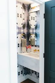 wallpaper bathroom designs lynwood remodel great room and powder bathroom u2014 studio mcgee