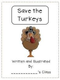 thanksgiving turkey story a writing lesson paper award