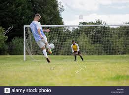 goal post kick ball stock photos u0026 goal post kick ball stock