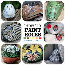 Painting Rocks For Garden Diy Garden Painted Rocks Garden Rock And
