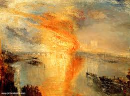 chambre des communes william turner 1775 1851 incendie de la chambre des et des