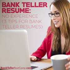Job Description Of A Teller For Resume by Bank Teller Resume No Experience Archives