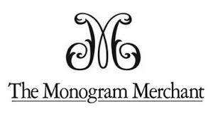three letter monogram initial etiquette the monogram merchant