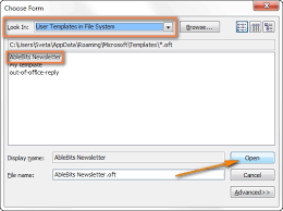 how to create an email template in outlook 2013 template idea