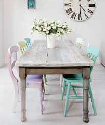 Pastel Dining Chairs Best 25 Shab Chic Dining Chairs Ideas On Pinterest Shab Best