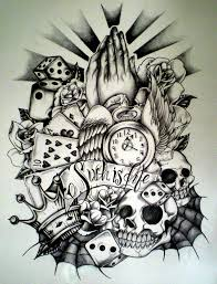 half sleeve designs drawings search