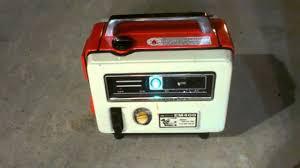 vintage honda vintage honda generator em400 youtube