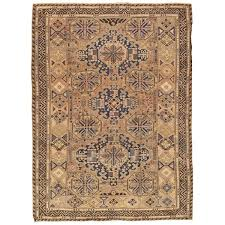 Blue Brown Area Rugs Sumak Antique Hand Knotted Wool Blue Brown Area Rug U0026 Reviews