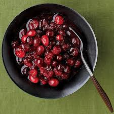cranberry sauce with and clove