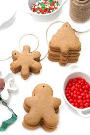 cinnamon gingerbread ornaments recipe beanilla