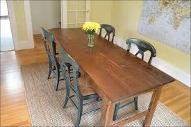 Country Kitchen Table Plans - kitchen long dining table farmhouse table plans rustic wood