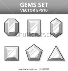 abstract transparent design elements stock vector 209205112