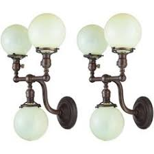 Pull Chain Sconce Signal Brass Globe Sconce With Pull Chain For Sale At 1stdibs
