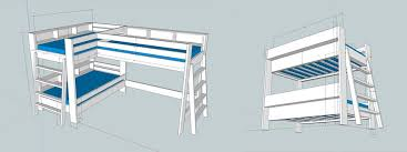 How To Build A Bunk Bed Frame How To Make Bunk Beds Part 1 I Like To Make Stuff