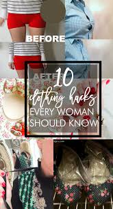 very simple fashion tips that are easy to implement 10 clothing hacks every woman should know home stories a to z