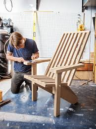 how to make a modern adirondack chair contemporary adirondack
