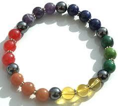 crystal stone bracelet images 7 chakra crystal grounding stone bracelet health jpg